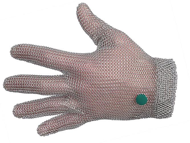 gants anti-coupure cottte de maille XS main gauche