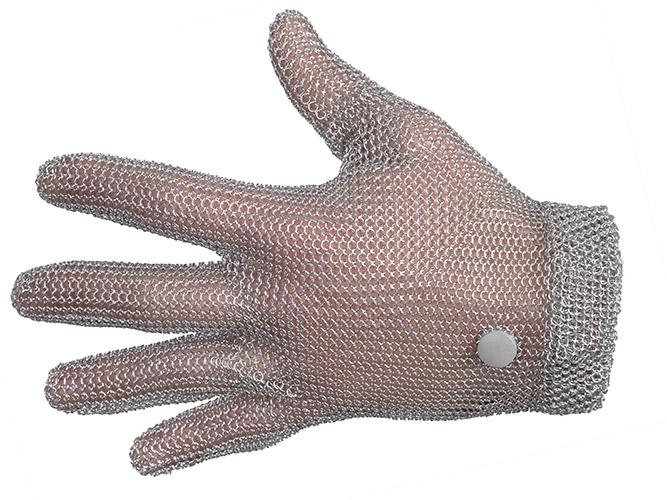 gants anti-coupure cottte de maille S main gauche