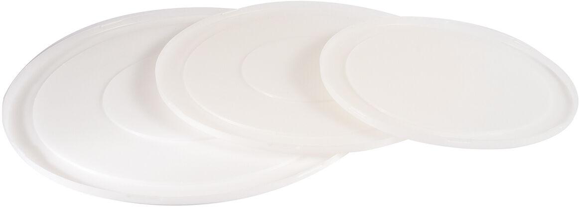 couvercle pour bassine demi-ronde polypropylène 40 cm