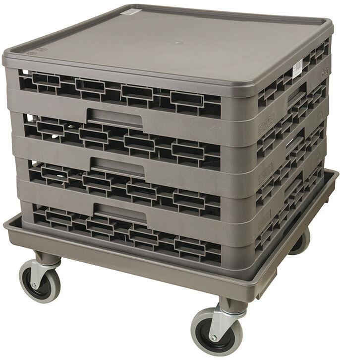 chariots pour casiers de lavage 54 x 54 cm sans poignée
