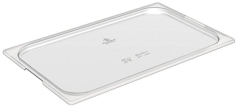 Cristal Plus couvercle pour bacs GN en copolyester  GN 1/2