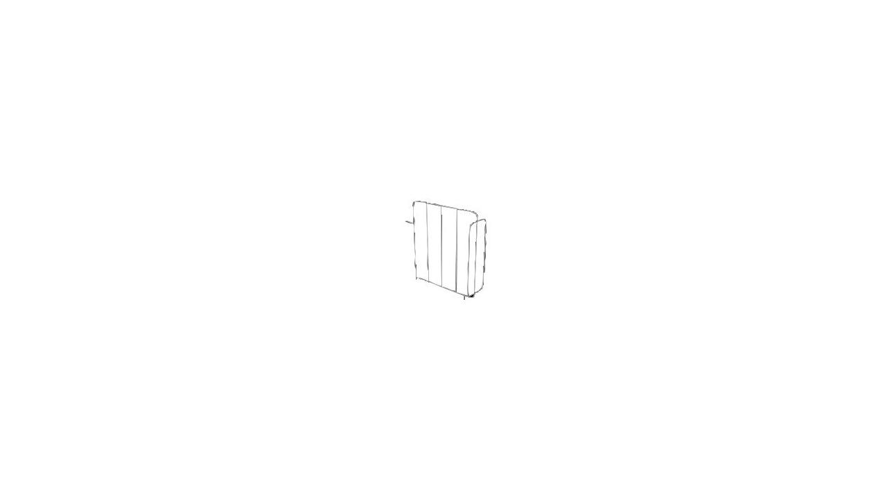séparation anti-chute seule - pour chariot petit modèle